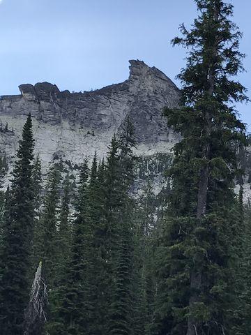 Harrison Peak, taken from plateau
