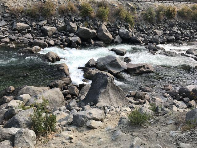 Rapids in Wenatchee River