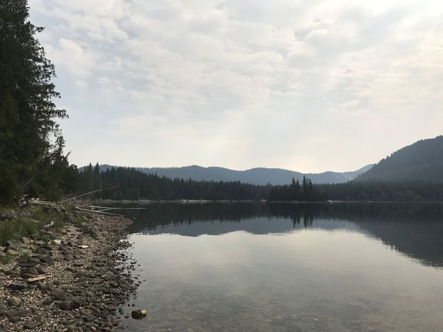 Lake Wenatchee, looking east