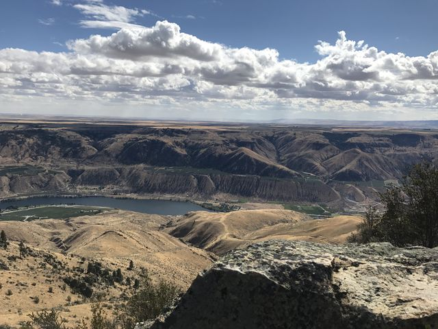 Columbia River, taken from Chelan Butte