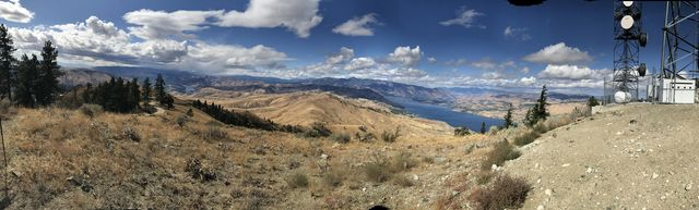 Panorama picture, taken from Chelan Butte