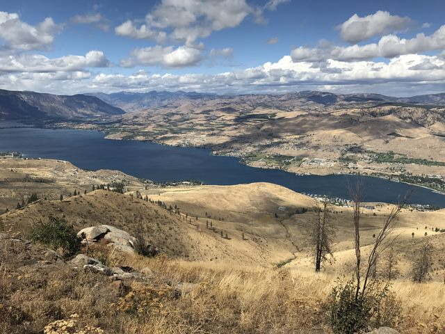 Lake Chelan, taken from Chelan Butte