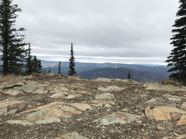 View from trailhead
