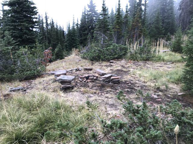 A pretty campsite on Pond Peak