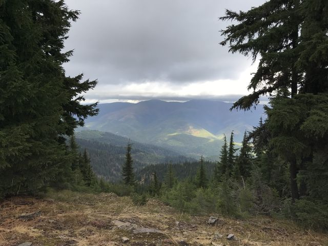 View from Downey ridge