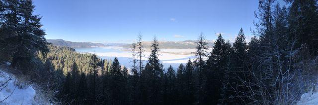Panoram shot of Lake Chatcolet