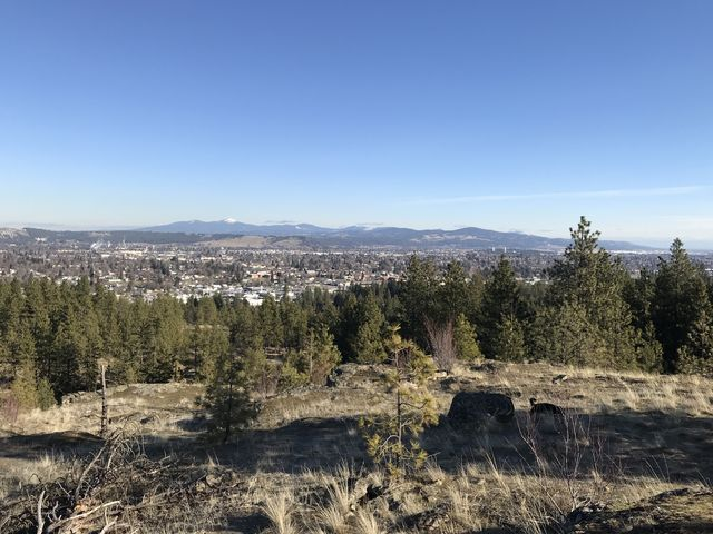 Views across the city of Spokane are splendid