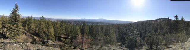 Panorama shot from Eagle Peak
