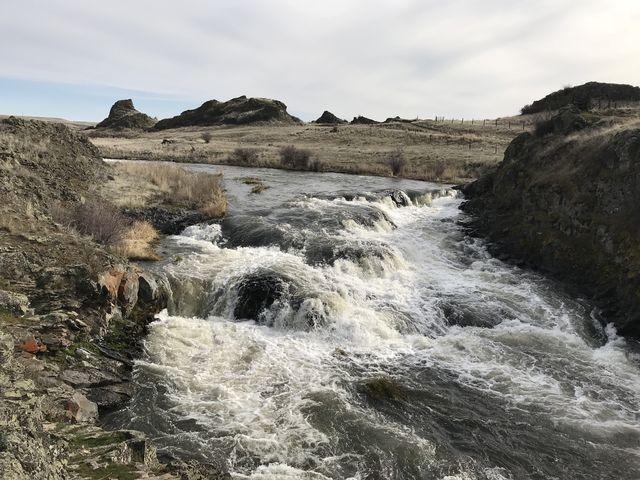 Rock Creek from Breeden Road bridge