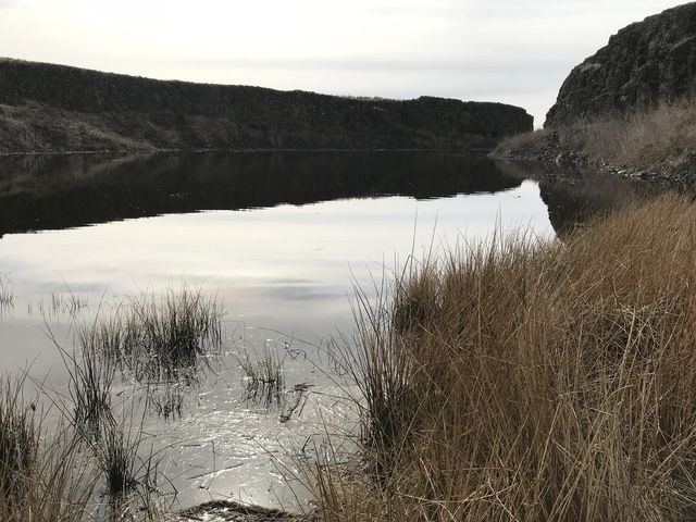 Steep-sided Wall Lake