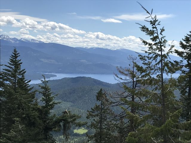 Priest Lake and the Selkirk Crest