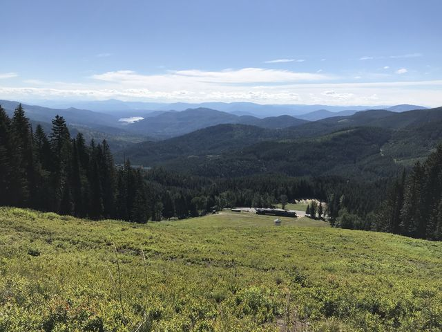 View from the eastern ski runs