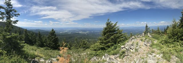 Panorama shot from Day Mountain