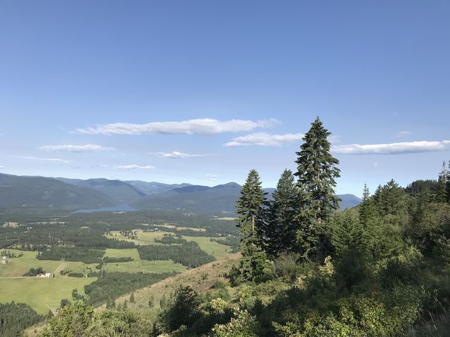 First views of the Clark Fork river valley