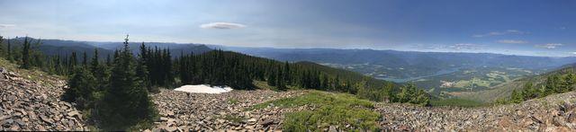 Panorama shot from Twenty Odd Peak