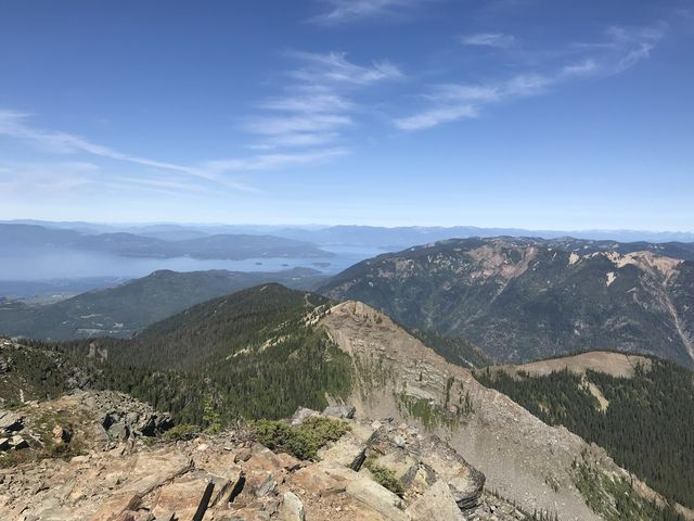 Goat Mountain and Lake Pend Oreille