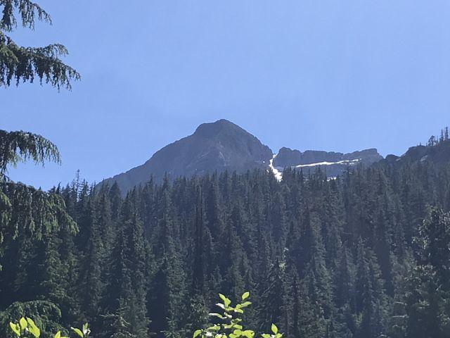 Close up of St. Paul Peak