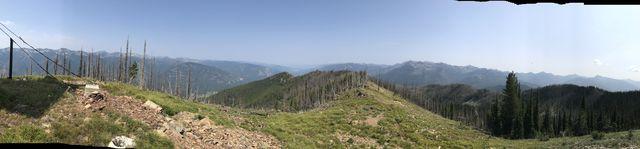 Panorama shot from Berray Mountain