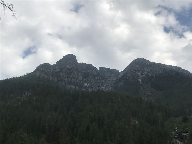 Views of Ibex Peak and Little Ibex from far below