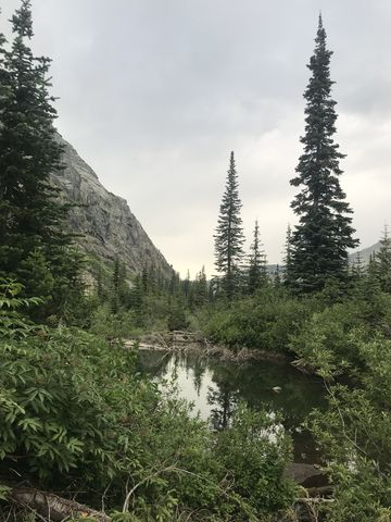 From the south end of Little Ibex Lake