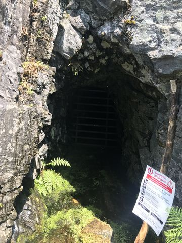 Heidelberg mineshaft
