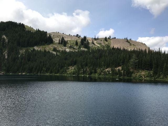 Crystal Lake below Pearson Peak