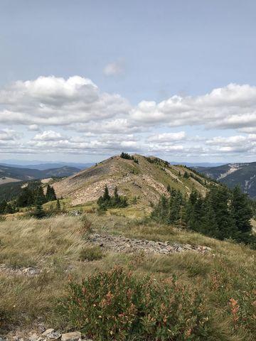 Pearson Peak is a rather longish ridge