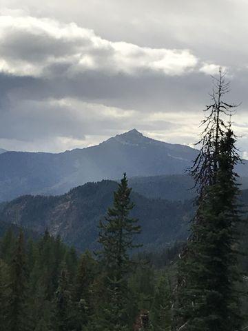 Snow Peak from Scribner Falls trail