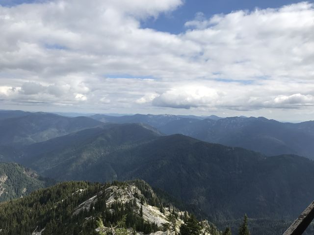 View from Snow Peak