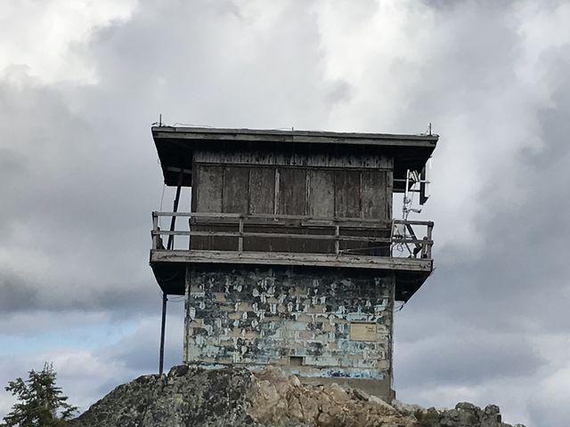 Snow Peak lookout tower