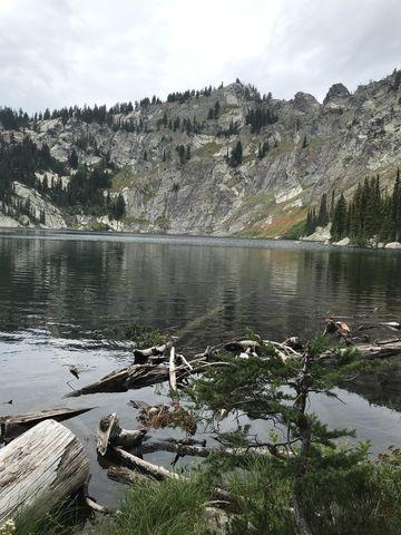 Heart Lake up close