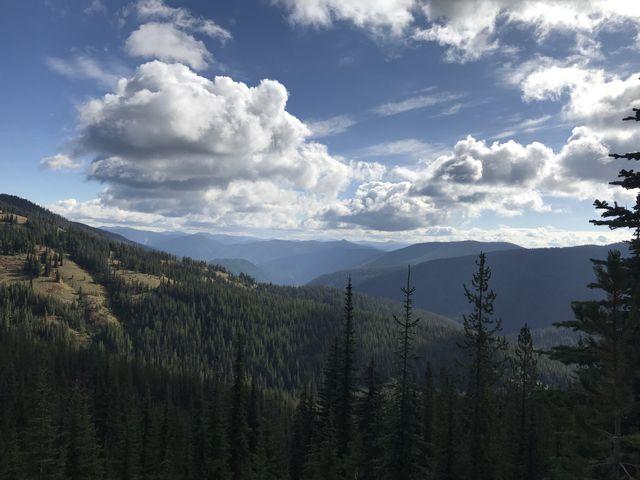 Timber Creek (Granite Peak front left)