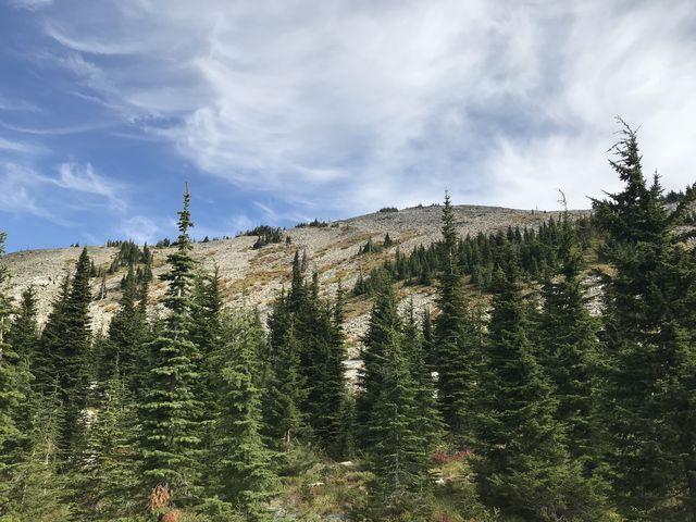 Talus-covered Goat Peak