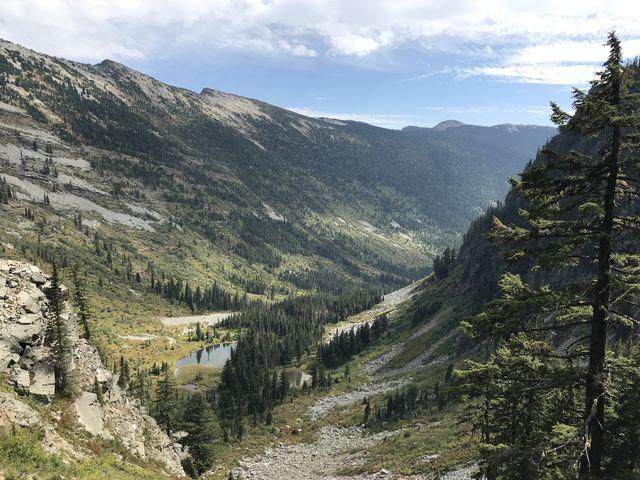 Swamp Creek valley