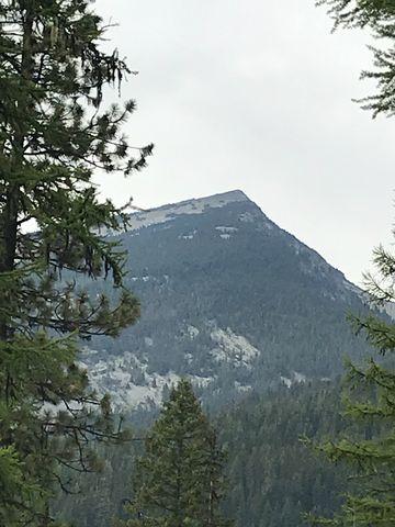Zoomed in on Engle Peak