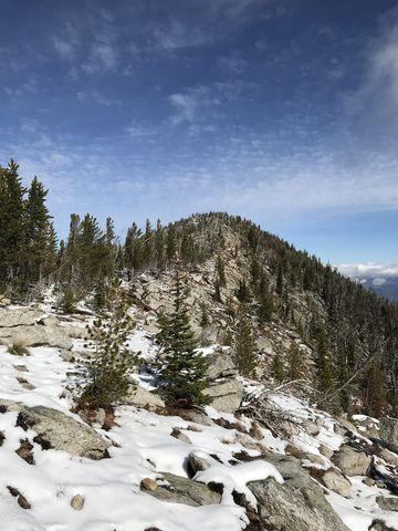 Fisher Peak from the ridge