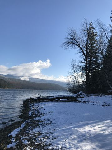 Looking south from Navigation Campground